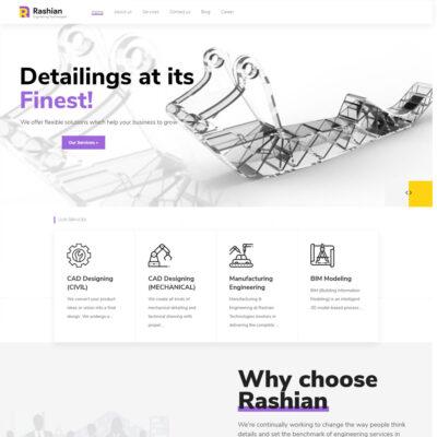 Rashian_Website Design