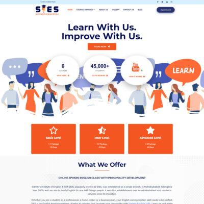 SIES_WEBSITE DESIGN